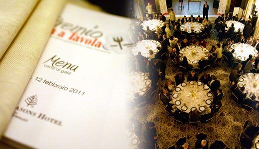 Festa dell'enogastronomia A Firenze i Premi Italia a Tavola