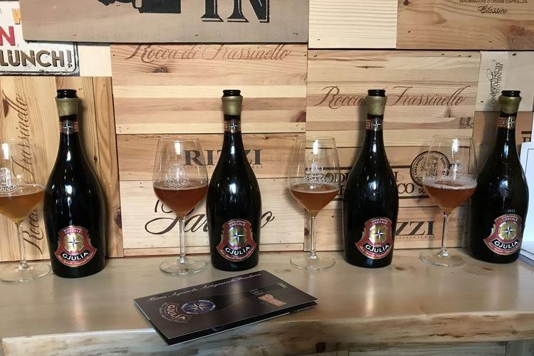 Le prime 4 annate di Triple Ale Grecale Il top di gamma del birrificio Gjulia
