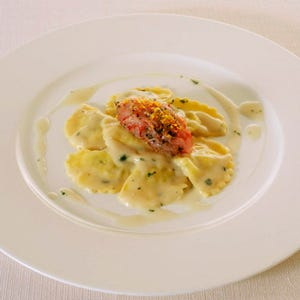 Alfred's Pork Ravioli Recipe — Dishmaps