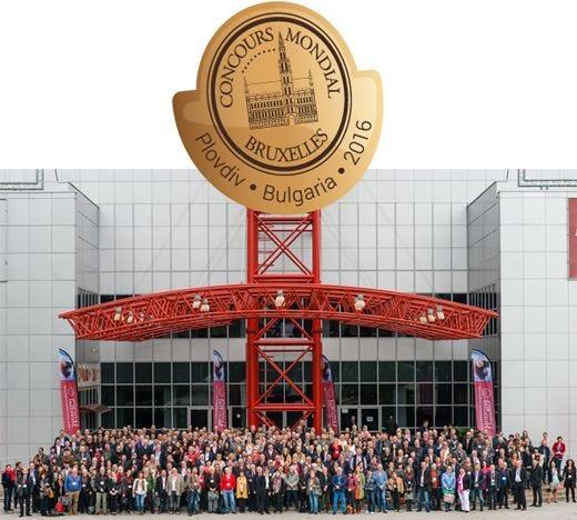 Concours Mondial de Bruxelles 374 medaglie ai vini italiani