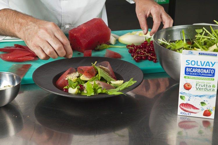 Le ricette estive di Danilo Angè Ortaggi e frutta di stagione un must