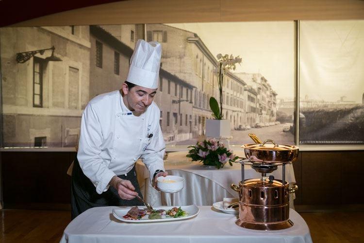 Le ricette tradizionali di Ciro Tiano all'Unique Palatino Garden Restaurant