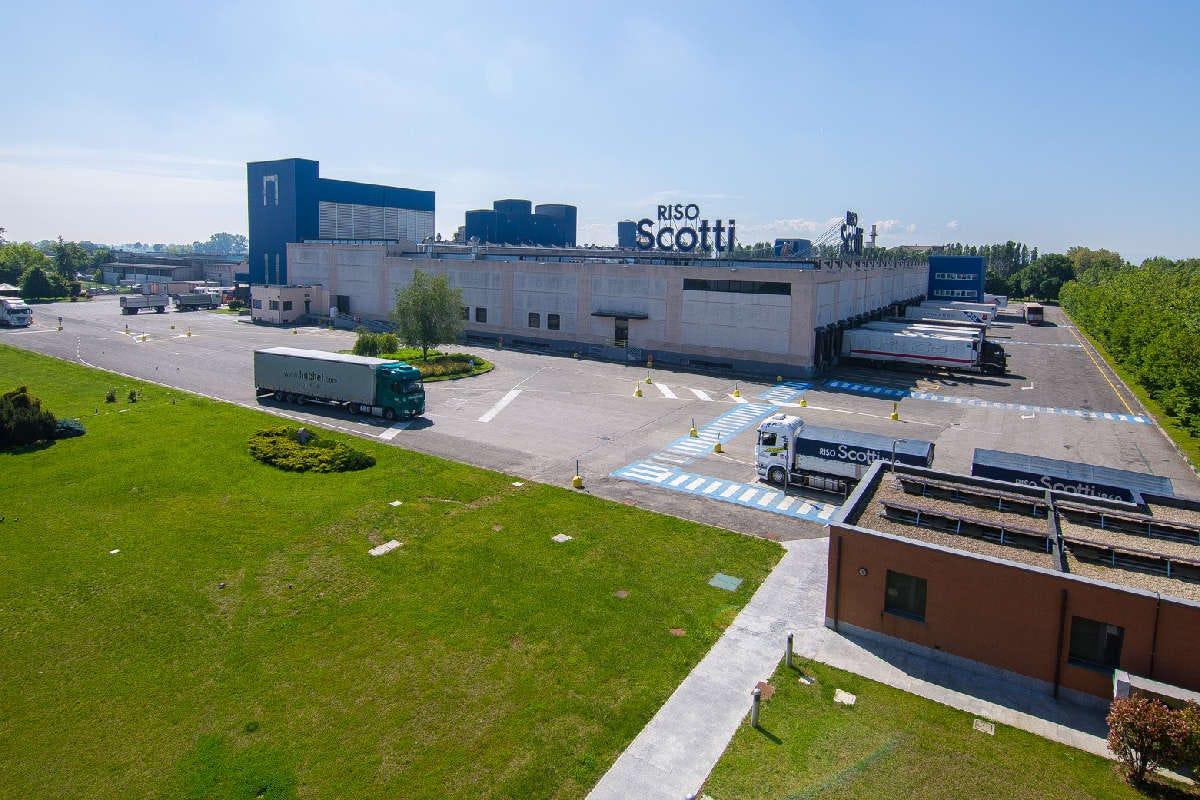 Riso Scotti, nuovo impianto per il trattamento delle acque reflue
