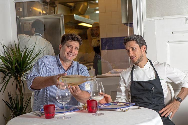 Al ristorante Chinappi di Roma le proposte di pesce seguono il calendario