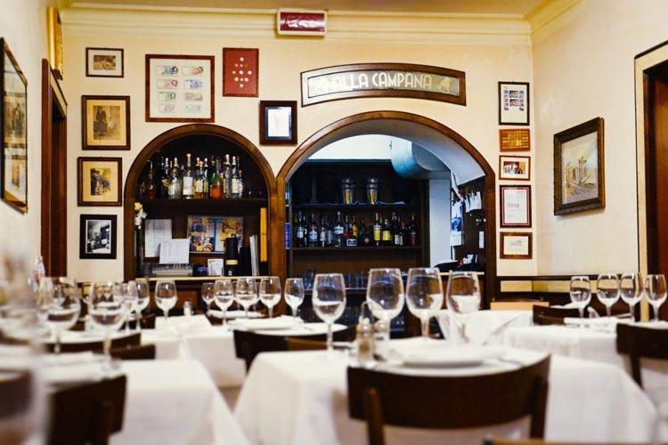 """Cinquecento anni """"suonati""""  Il record del ristorante La Campana"""