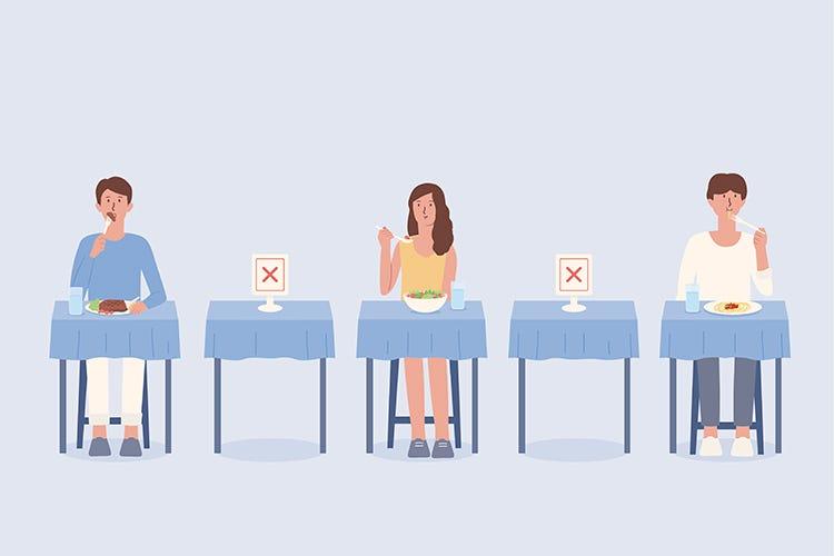 Le misure restrittive e i dati sui contagi: benefici o no? - Bar e ristoranti, contagio marginale Le chiusure sono un danno inutile