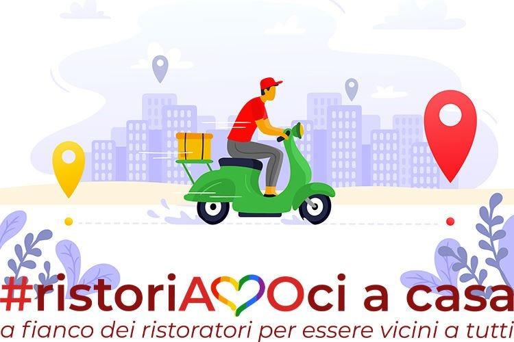L'iniziativa #ristoriAMOci a casa ha già raggiunto 5 milioni di utenti