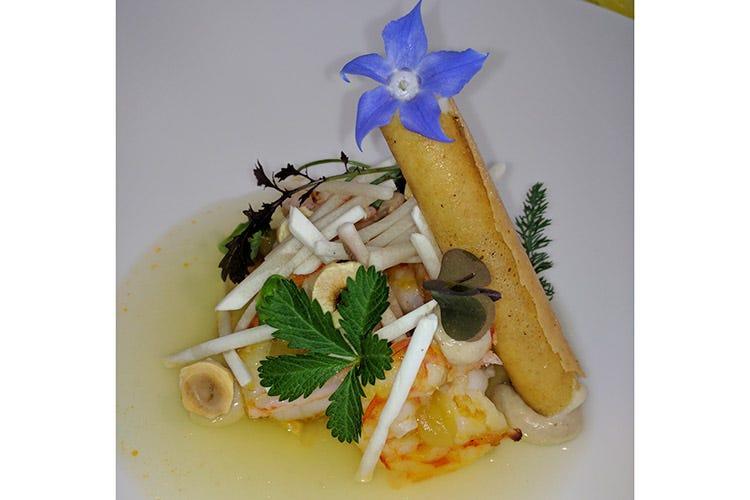 (C'è ritmo tra cucina e servizio all'Osteria Arbustico di Paestum)
