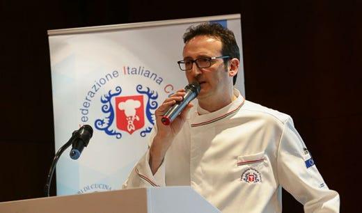 Forum della cucina, critiche al Ministro Pozzulo: «La Fic non doveva mancare»