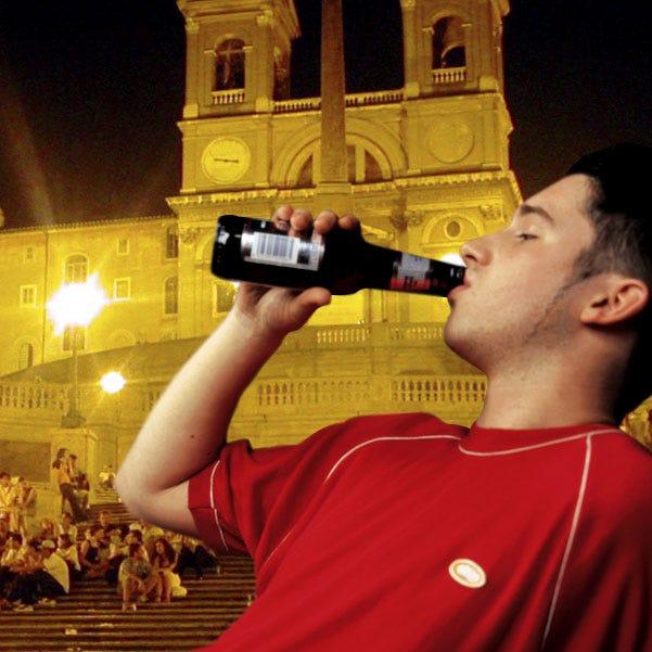 Movida romana, niente alcol ai minori di 16 anni