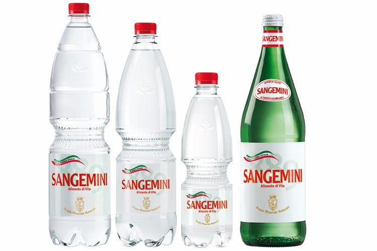Migliore acqua minerale in bottiglia