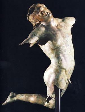 In alto i calici nel segno dell'arte L'Anag Sicilia adotta il Satiro Danzante
