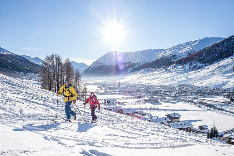 Livigno, una vacanza invernale in sicurezza - Un inverno alternativo a Livigno Ciaspolate e cucina a domicilio