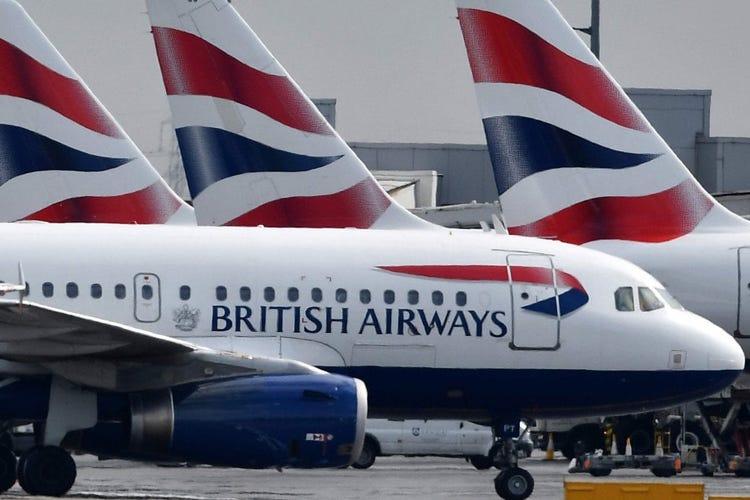 Scioperano i piloti British Airways Trecentomila a terra in 2 giorni