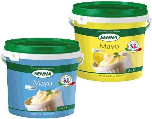Tutto il gusto della maionese Senna con la garanzia del marchio di qualità Fic