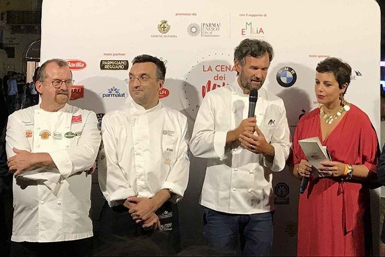 Il Settembre gastronomico di Parma inizia con la cena delle meraviglie