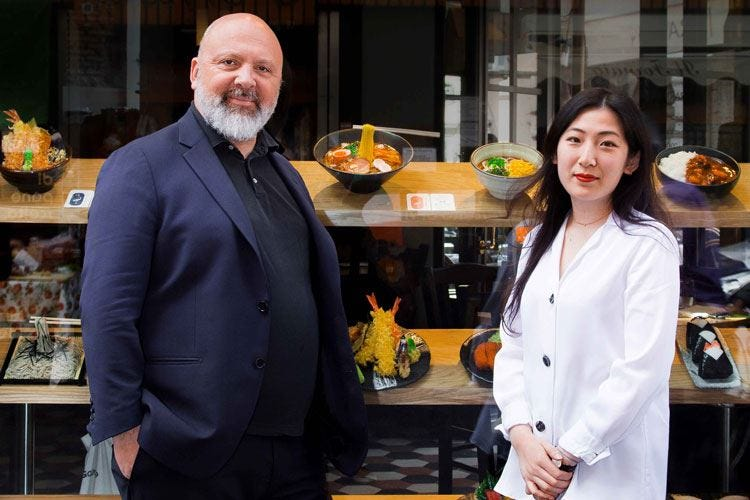 Shiroya porta a Roma la cucina giapponese autentica