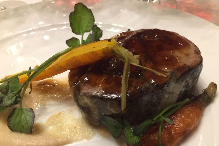 Slow Food al Casual Restaurant Alex Manzoni riscopre la spalla di pecora