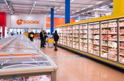 Cash carry sogegross a firenze primo in italia con dry - Sogegross bagno a ripoli ...