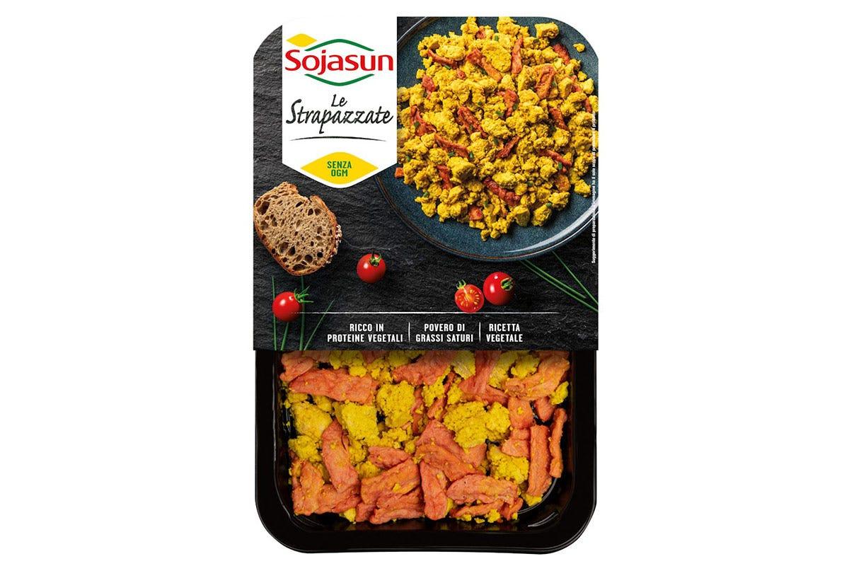 Confezione da 200 grammi di Le Strapazzate di Sojasun Le Strapazzate, uova 100% vegetali Piatto pronto sano ed equilibrato