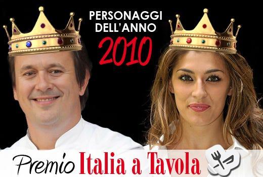 Emanuele Scarello e Elisa Isoardi Personaggi dell'anno 2010