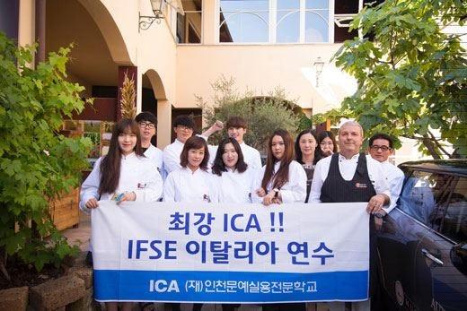 Gli studenti coreani ospiti di Ifse al Museo del gusto di Frossasco