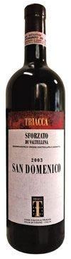 Sforzato di Valtellina Docg San Domenico 2003 di Triacca
