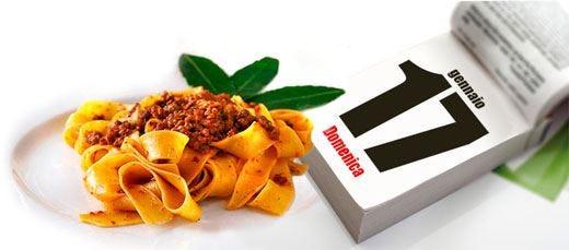 Tagliatelle protagoniste in tavola a tutela del Made in Italy all'estero