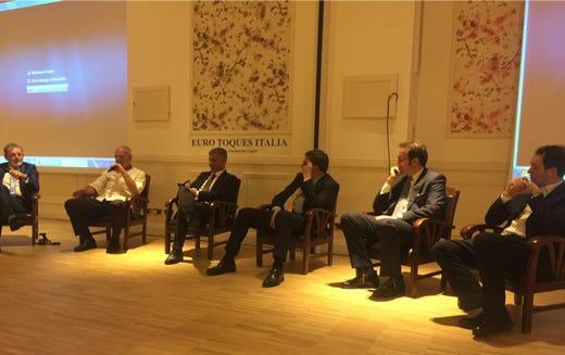 Alberto Lupini, Enrico Derflingher, Alfonso Pecoraro Scanio, Ettore Novellino, Rocco Puzzulo, Alessandro Circiello
