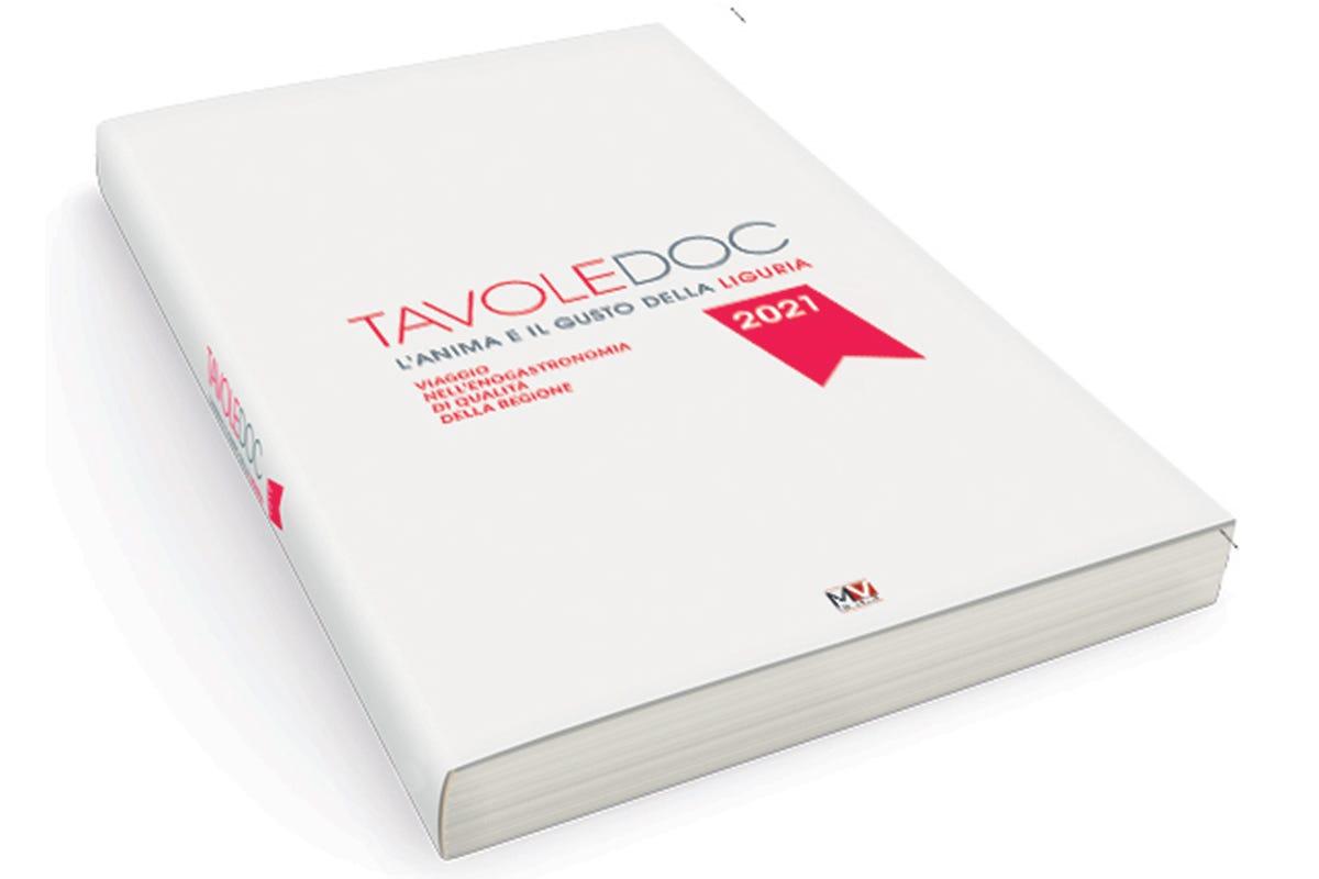 La cover della guida Ecco Tavole Doc, tutto il buono della Liguria