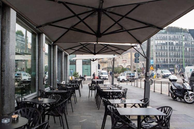 Milano, suolo gratis per i tavolini Dal Comune un aiuto ai locali
