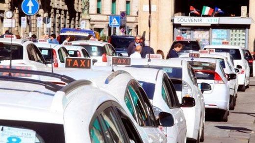 Taxi, Italia