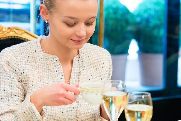 Tè e champagne a Bergamo Oriente e Occidente si incontrano