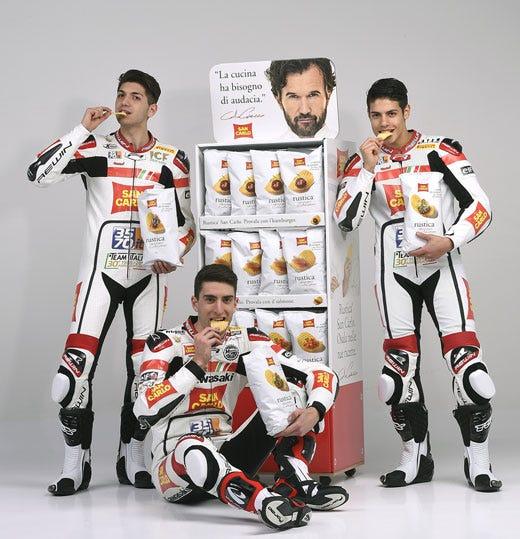 San Carlo presenta il Team Italia Al via una nuova ...