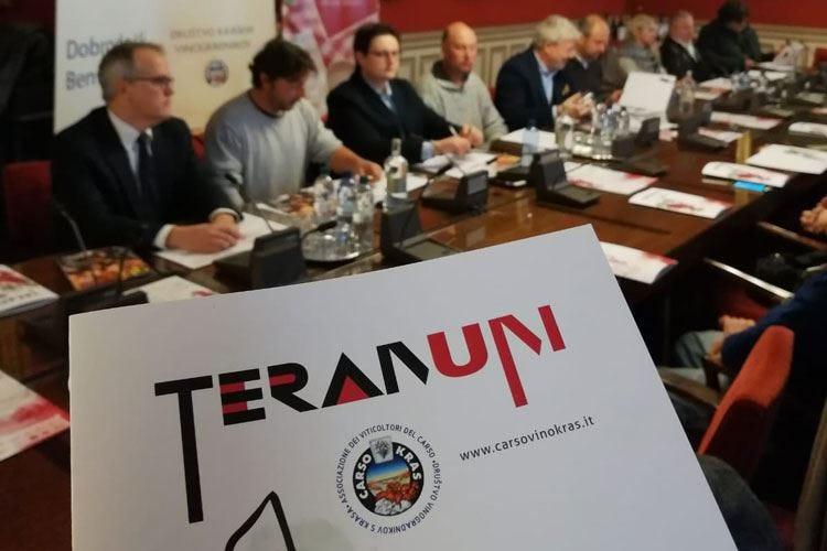 Teranum, a Trieste la vetrina dei rossi friulani, sloveni e austriaci