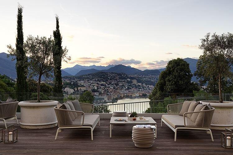The View Lugano Cucina gourmet con vista lago