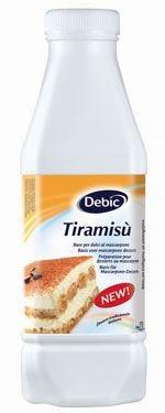 Base Tiramisù di Debic per un dessert al 55% mascarpone