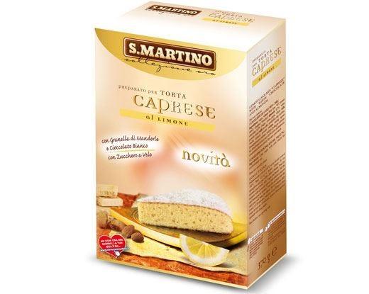 Torta Caprese al limone subito pronta con il nuovo preparato di S.Martino