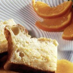 Torta al limone con salsa di mandarini