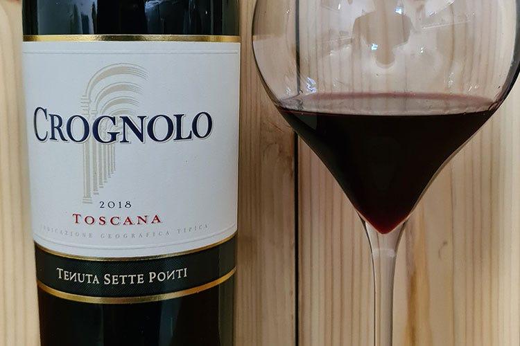 £$Ripartiamo dal vino:$£ Toscana Igt Crognolo 2018 Tenuta Sette Ponti