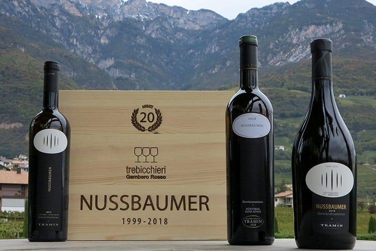 Nussbaumer Gewurztraminer - Gambero Rosso ecco i Tre Bicchieri Nussbaumer li conferma da 20 anni