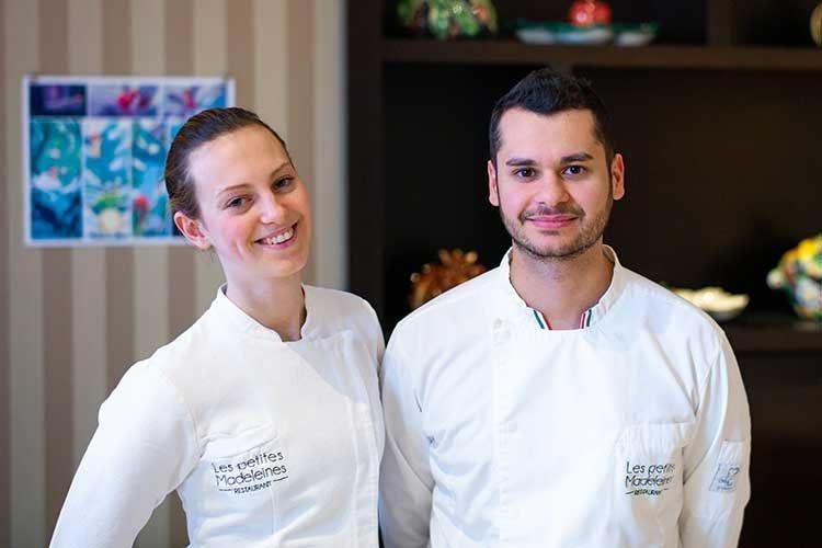 Les Petites Madeleines Giuseppe Lisciotto è il nuovo cuoco