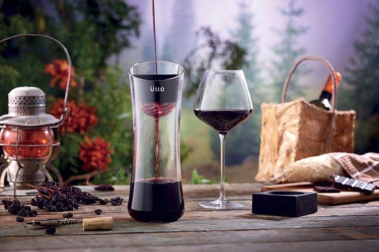 Ullo, il filtro che toglie i solfiti al vino