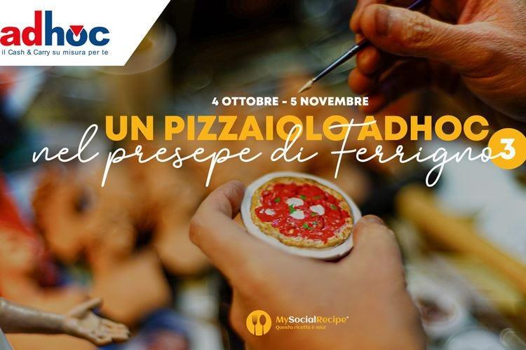 Un pizzaiolo nel presepe di Ferrigno Sondaggio Adhoc Cash & Carry