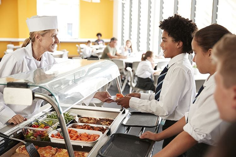 Usa, hot dog nelle scuole «Ma in Italia non va tanto meglio»