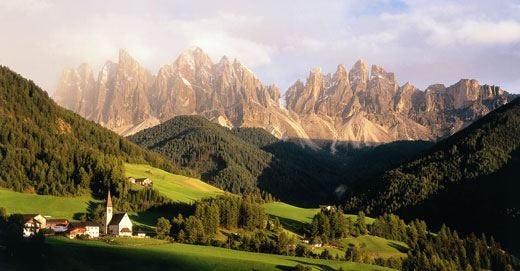 Val di Funes, paradiso altoatesino Il rispetto per l'ambiente è 2.0