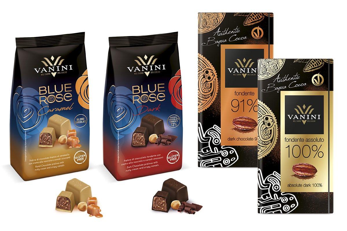 I nuovi Vanini Blue Rose e Bagua del Perù L'anima stagionale del cioccolato Le proposte di Lindt e Vanini