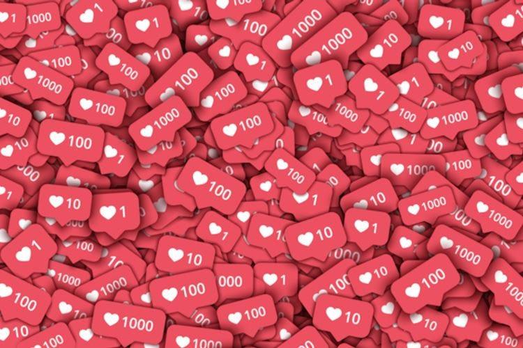 """Via i """"like"""" da Instagram Tempi duri per gli influencer"""