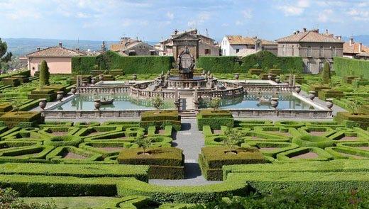 Il giardino di villa lante il parco pi bello d 39 italia for O giardino di pulcinella roma