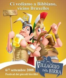 Birre artigianali belghe e italiane al 3° Villaggio della birra di Bibbiano